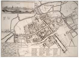 Map Of Oxford England by Civil War Oxford1643 Royalist Defences At The Beginning Of The War