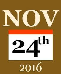 thanksgiving broadway show performance schedule 2016
