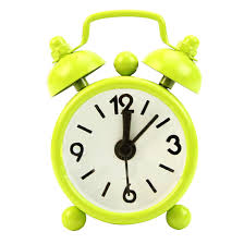 desk alarm clock new home outdoor portable lovely cute cartoon dial number round