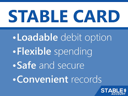 loadable debit card stable account on the stableaccount debit card is a