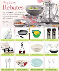 free gifts for wedding registry registry rebates belk