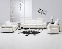 White Chairs For Living Room Interesting 40 White Living Room Design Decoration Of 30 White