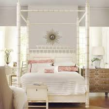motif white canopy bed