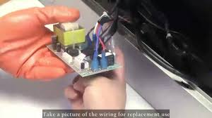 how to replace broan range hood light switch how to replace akdy range hood circuit board youtube