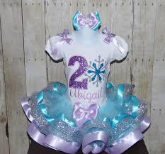 ribbon trim snowflake ribbon trim tutu set snowflake birthday dress