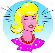 retro martini clip art retro woman winking retro clip art royalty free cliparts