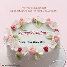 how to send a birthday card write your name on birthday cake image for whatsapp send wishes