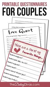 things for couples a few of our favorite things questionnaires for couples