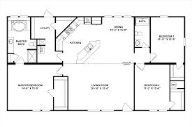 buccaneer single wide mobile home floor plans