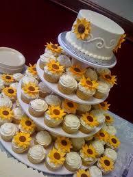 25 cupcake wedding favors ideas best 25 sunflower wedding cupcakes ideas on purple