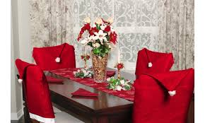 Santa Chair Covers Santa Hat Christmas Chair Covers Groupon