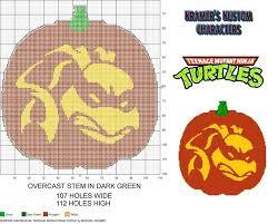 ninja turtle pumpkins stencil u2013 turtle 2017