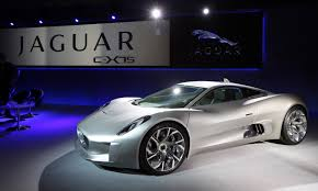 jaguar cars c x75 coming at last bond villain to drive jaguar supercar in
