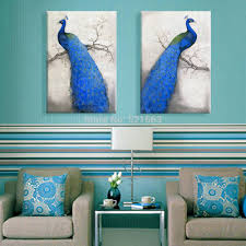peacocks home decor peacock home decor fresh in popular art print oil painting font b