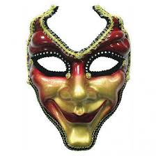 masks for masquerade style mask mask has and gold laquered