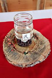 Rustic Mason Jar Centerpieces For Weddings by Diy Barn Style Wedding Rustic Centerpieces Jar Candle And