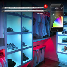 home interior led lights 8x12in xkchrome ios android app bluetooth