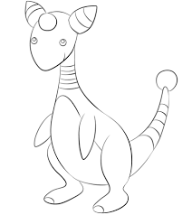 togepi coloring pages click to see printable version of ampharos coloring page lineart
