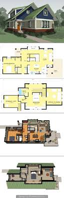 susan susanka house plans not so big house plans modern 3 bedroom 2 bath ranch small chicken