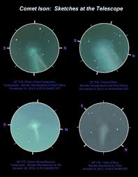 comet ison on its incoming trajectory astronomy magazine