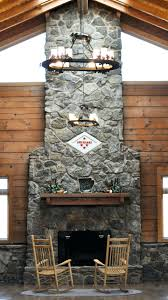 rustic stone fireplace chimney design pictures liner cost outdoor