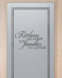 Frosted Glass Kitchen Cabinets by Kitchen Pantry Doors Etched Glass Pantry Door With Custom
