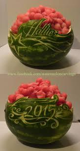 24 best watermelon carvings images on pinterest watermelon