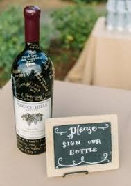 wine bottle wedding guest book 10 fantastic wedding guestbook ideas for your special day