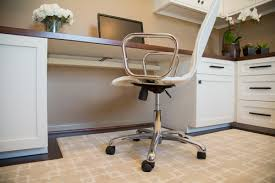 Office Chair Rug Before U0026 After A Home Office Is Designed For A Busy Working