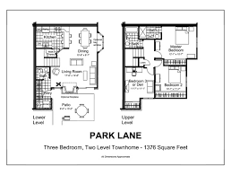Two Level Floor Plans Townhomes For Rent In Hopkins Mn Auburn Townhomes