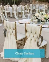 how to make chair sashes wholesale wedding table linens tablecloths and chair covers