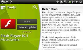 flash plugin android flash player 10 2 launching for android phones tablets on march