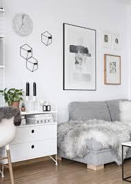 White Livingroom New Poster In Our Scandinavian Living Room My Full House