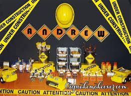 Construction Themed Centerpieces by 41 Best Construction Birthday Party Theme Images On Pinterest