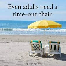 Even adults need a time out chair