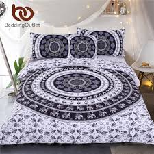Black Bedding Compare Prices On White Black Bedding Online Shopping Buy Low