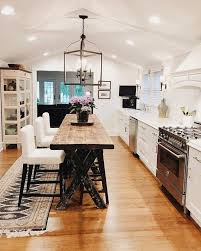 One Wall Kitchen Designs With An Island Best 25 Kitchen Island With Stools Ideas On Pinterest