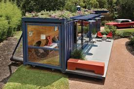 bild architects shipping container house design view from with