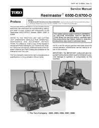 01084sl pdf reelmaster 6500 d 6700 d w kubota engine rev f jan