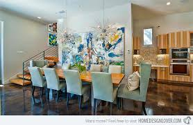 Light Blue Dining Room Chairs How To Get A Blue And Orange Dining Room Home Design Lover