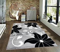 black and white area rugs modern black white area rug by furniture