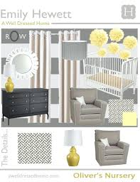 Gray And Yellow Nursery Decor Yellow And Grey Baby Room Lifeunscriptedphoto Co