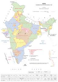 Map Of India States by States And Union Territories Of India Familypedia Fandom