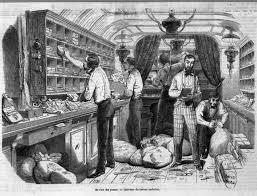 adresse bureau intérieur d un bureau ambulant illustration 1848 l adresse musée