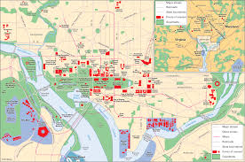 Tourist Map Of Washington Dc by Filewashington Dc Printable Tourist Attractions Map Jpg For Map Of