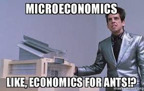 Economics Meme - microeconomics like economics for ants center for ants