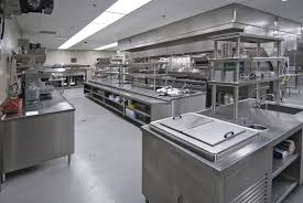 stainless steel commercial kitchen design decorating classy simple