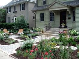 No Grass Landscaping Ideas Front Yard No Grass Design Design Ideas Pictures Remodel And