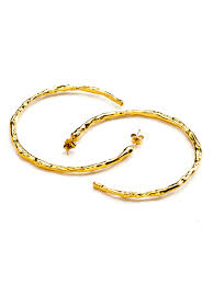 earrings simple simple hoop earrings gold frances flowers