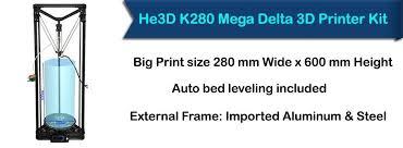 3d home kit by design works five affordable large format 3d printers at 3d printers online